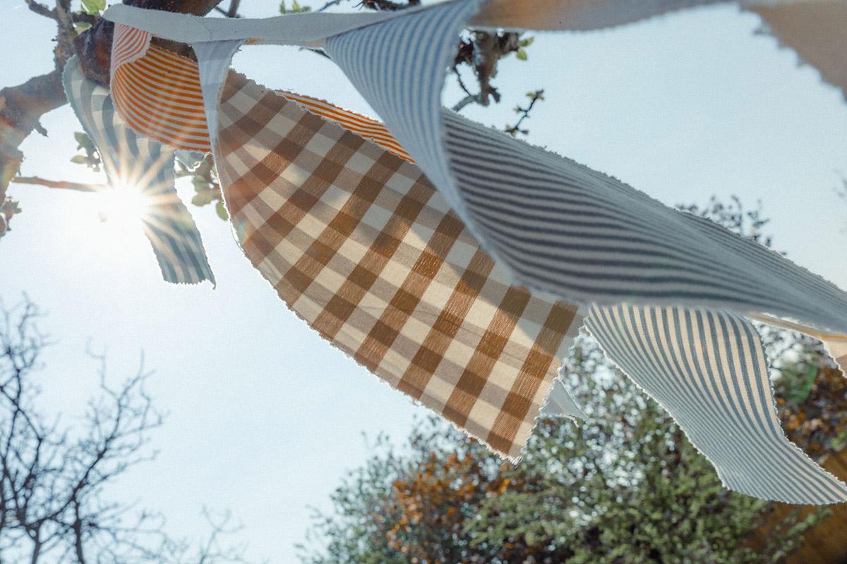 Studio Blackwell Fabric of Summer Bunting