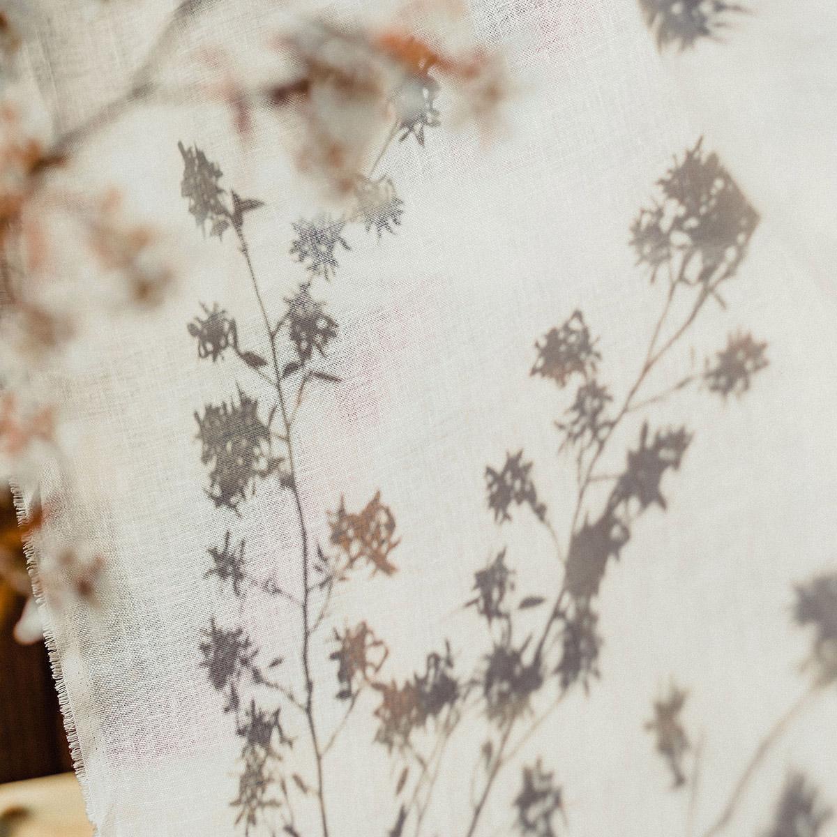 Studio Blackwell Fabric of Summer Neutrals Linen Voile